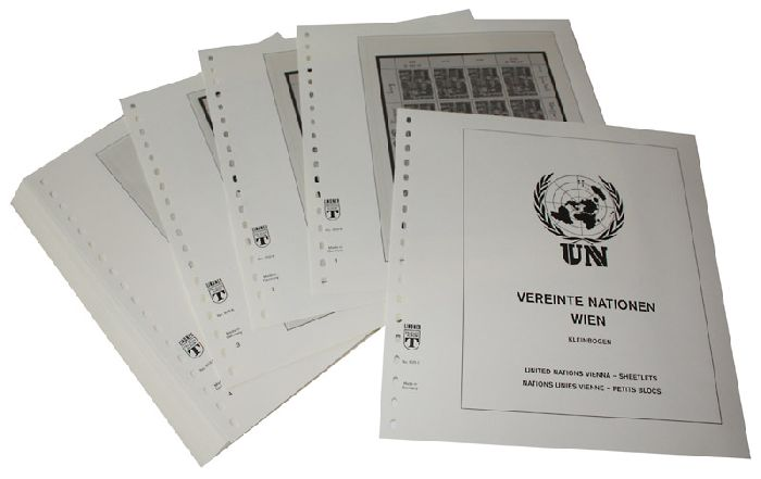 UNITED NATIONS - VIENNA Sheetlets 1983-2007