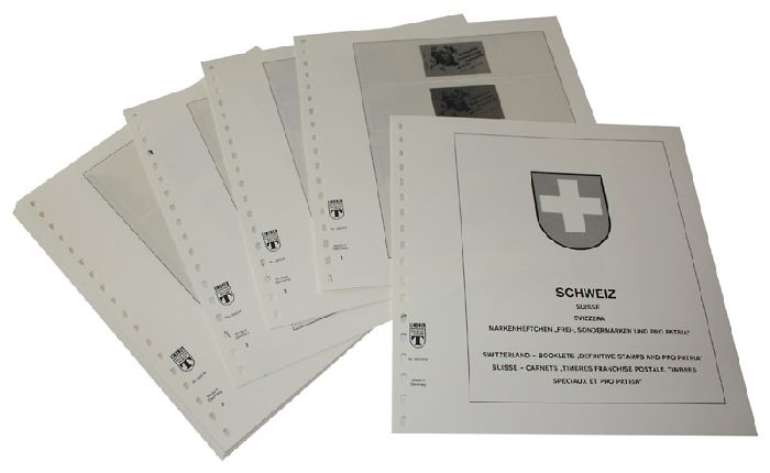 "SWITZERLAND booklets, definitives and ""Pro Joventute"" 1980-2015"