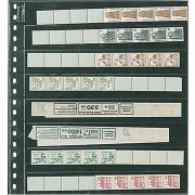 LINDNER Crystal Clear Pocket Page For Coins, Strips (10)