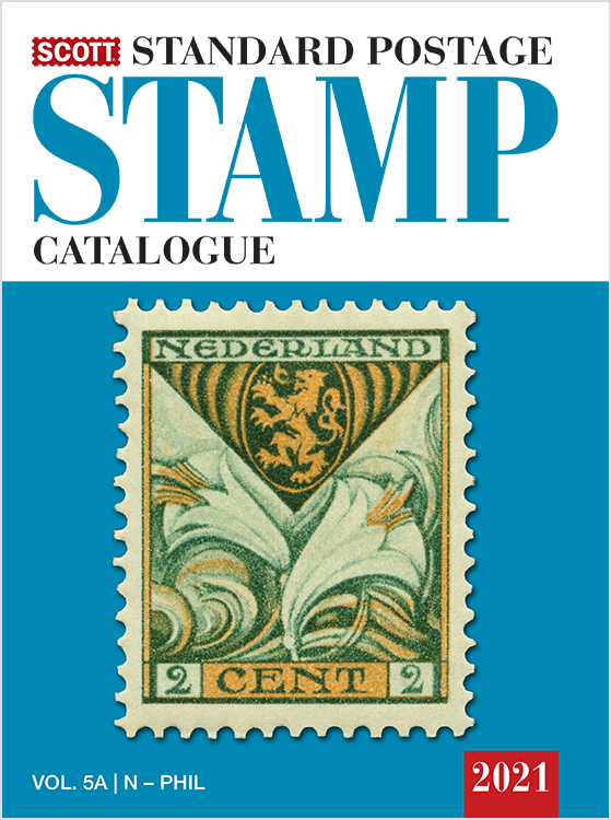 2021 Scott Standard Postage Stamp Catalogue - Volume 5 (N-Sam)