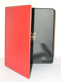 Binder for DS-01, 02, 04 Red