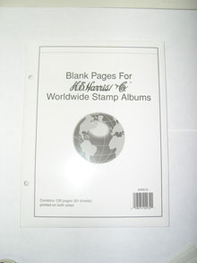 Worldwide Blank pages