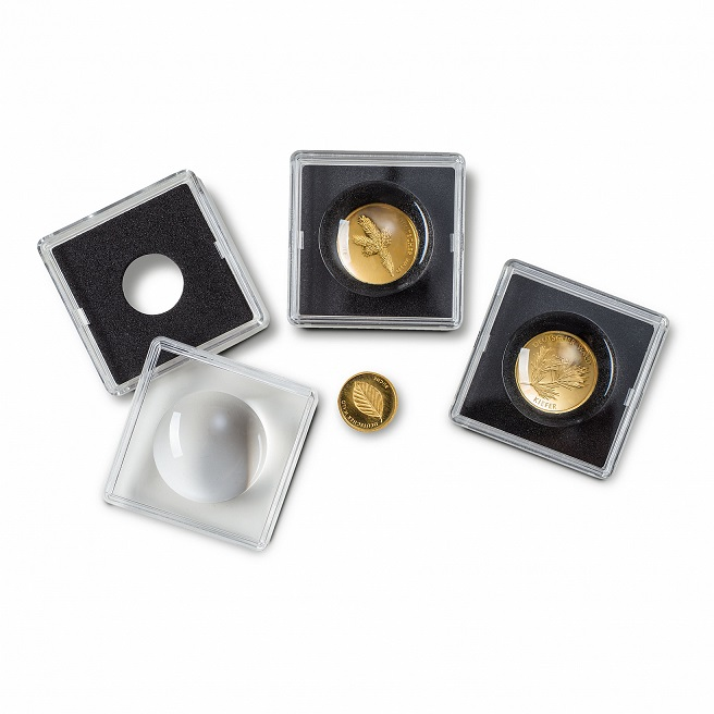 Magnicaps 18mm, square coin capsules