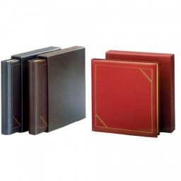 Classic Executive Leather Album-Bordeaux Red