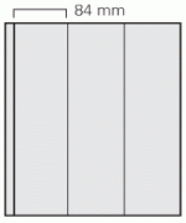 Transparent Garant Page Per 5 -3 Vertical Strips
