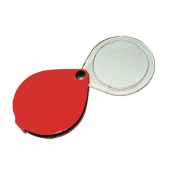 SAFE Folding Pocket Magnifier-Leather 3.5x