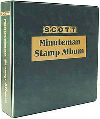 U. S. MINUTEMAN BINDER (3-Ring)