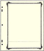 "Specialty border ""A"" 1 pocket"