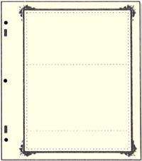 "Specialty border ""A"" 2 pocket"