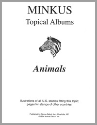 TOPICAL ALBUM PAGES: ANIMALS (22 PAGES)
