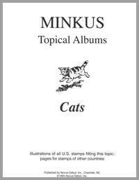 TOPICAL ALBUM PAGES: CATS (6 PAGES)