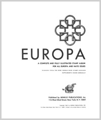 TOPICAL ALBUM PAGES: EUROPA THRU 1996