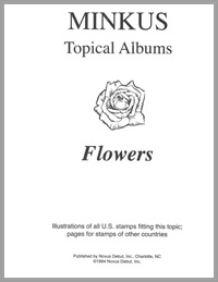 TOPICAL ALBUM PAGES: FLOWERS (18)