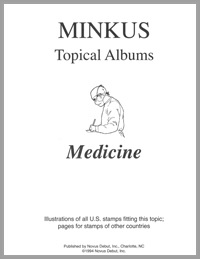 TOPICAL ALBUM PAGES: MEDICINE (10 PAGES)