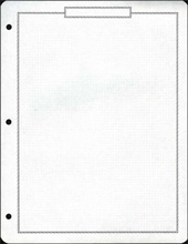 Economy Quadrille Blank Pages(35)