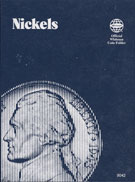 Coin Folder, Blank Nickel