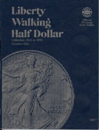 Coin Folder, Liberty Walking Half 1916-1936 Vol. 1