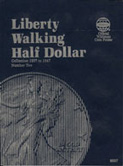 Coin Folder, Liberty Walking Half 1937-1947