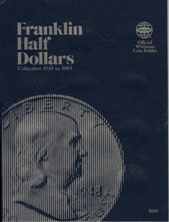 Coin Folder, Franklin Half 1948-1963