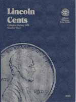 Coin Folder, Lincoln Cent 1975-Current Vol. 3