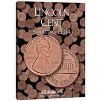 Coin Folder, Lincoln Cents 2014-