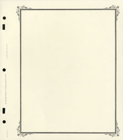 """A"" Blank Pages (40) (G & K Brand)"