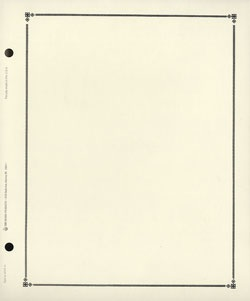 """C"" Blank Pages (40) (G & K Brand)"
