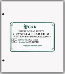 G & K International Acetate Interleaving
