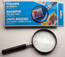 3X Magnifying glass with handle Dia. 3""