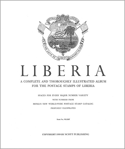 Liberia Album Pages thru 1996 (226 pages)