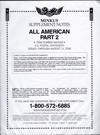 2013 All American Part 2 U. S. Postal Stationery (2-Post)