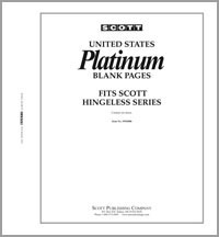 """B"" Blank Pages Platinum (10)"