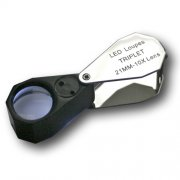 SAFE Led Lighted 10x Precision Loupe