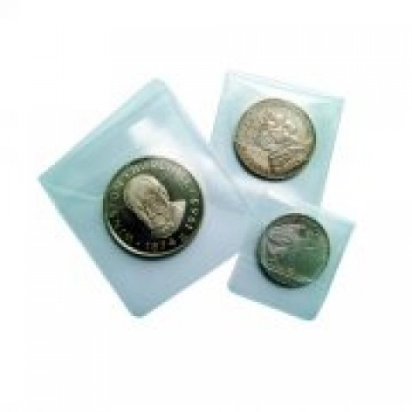 "2-5/8"" x 2-5/8"" Soft Coin Foldable Flip"