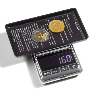LIBRA 500 Digital Coin Scale, 0.1-500 g