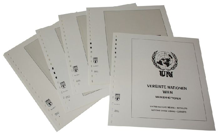 UNITED NATIONS - VIENNA Booklets 1995-2016