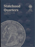 Coin Folder, Washington Quarter Statehood 2008-date Vol. 4